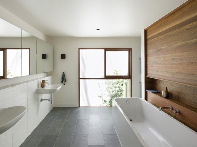 Bluestone a popular choice for geelong properties Modern australian bathroom design