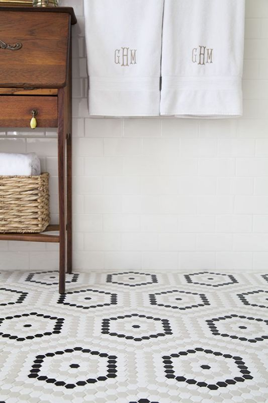 Tile Designs To Inspire Hexagonal Tiles Patterns