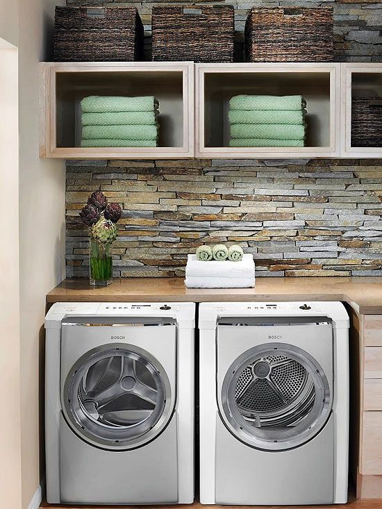 Laundry designs to inspire 12 beautiful ideas for you home - Laundry room wall ideas ...