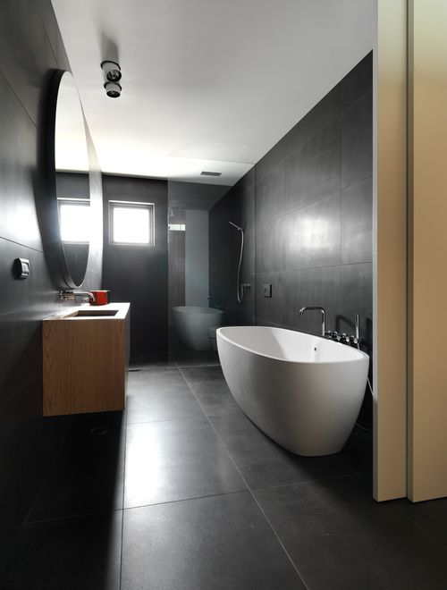 Create Open Seamless Spaces With Large Format Tiles See How Here