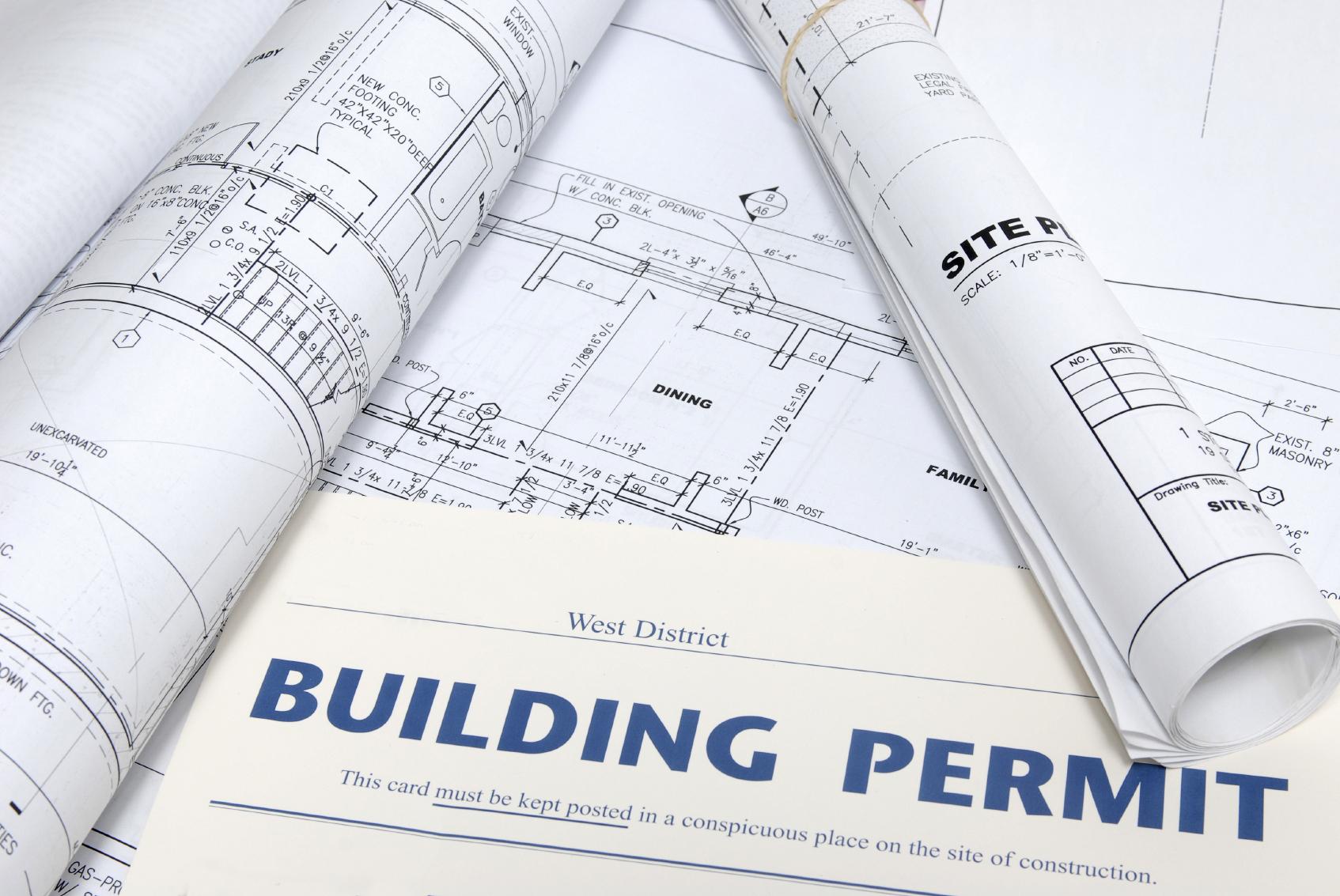 Plans, permit