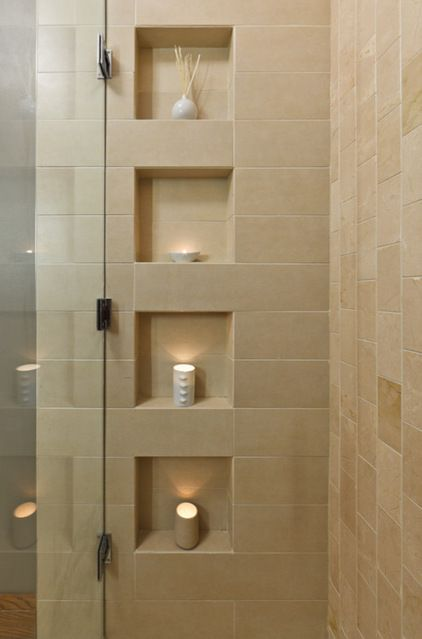 Tiled Shower Niche Amp Shower Shelf Bathroom Awesome