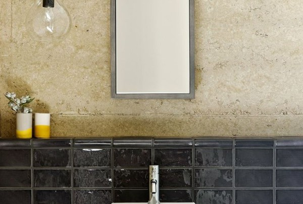 Bathroom renovation inspiration tilejunket for Small bathroom design principles