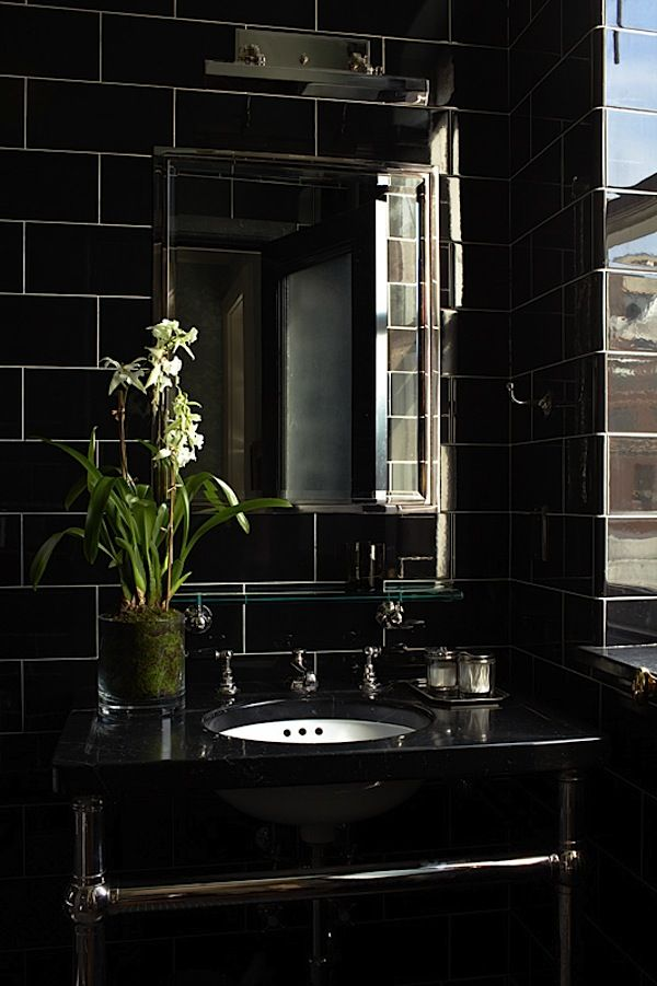 Black Bathroom. Bathroom:Amazing Minialist Bathroom Design With ...