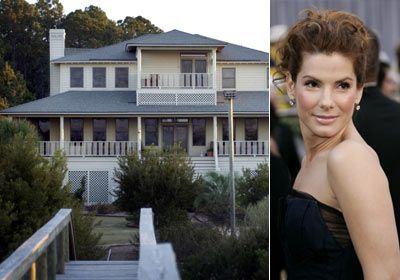 Sandra Bullock Hollywood Celebrity House