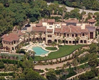 Eddie Murphy Hollywood Celebrity Home