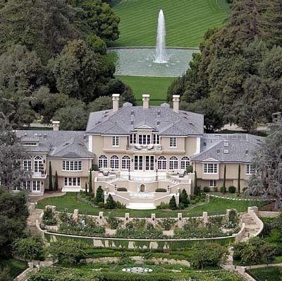 Oprah Winfrey Hollywood Celebrity Home