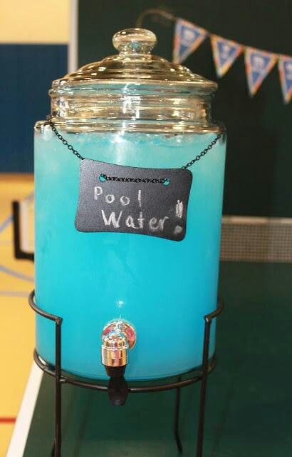 how to make my pool blue