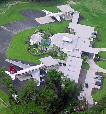 John Travolta Hollywood Celebrity Home