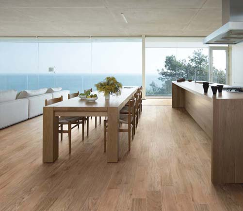 Kitchen Flooring Ideas 2015: Timber Look Tiles Are Simply Stunning