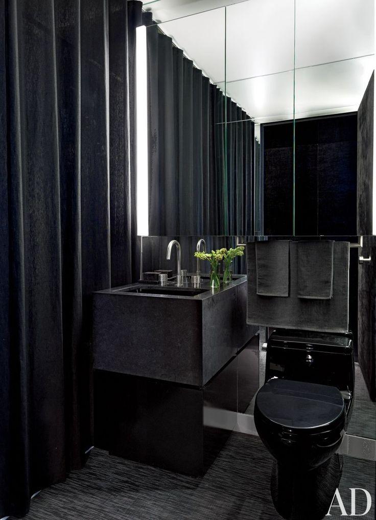 Got Any Blacker..? 10+ Sexy Black Bathrooms You Need To ...