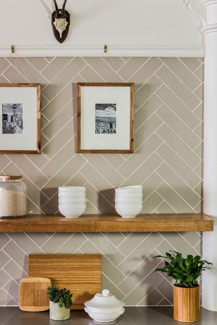 30 Herringbone Pattern Tiled Floor Amp Wall Surfaces