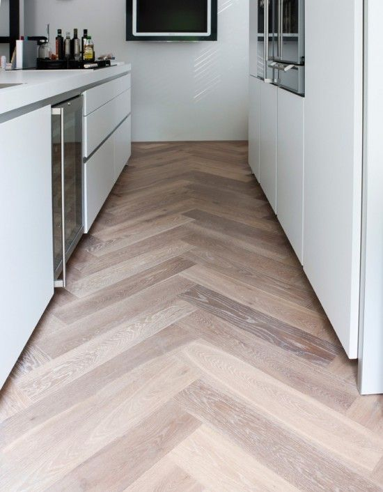 kitchen flooring patterns herringbone splashback tiles amp rescue remedy for small spaces 1708